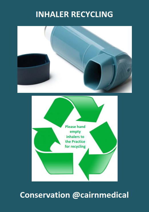 Inhaler recycling